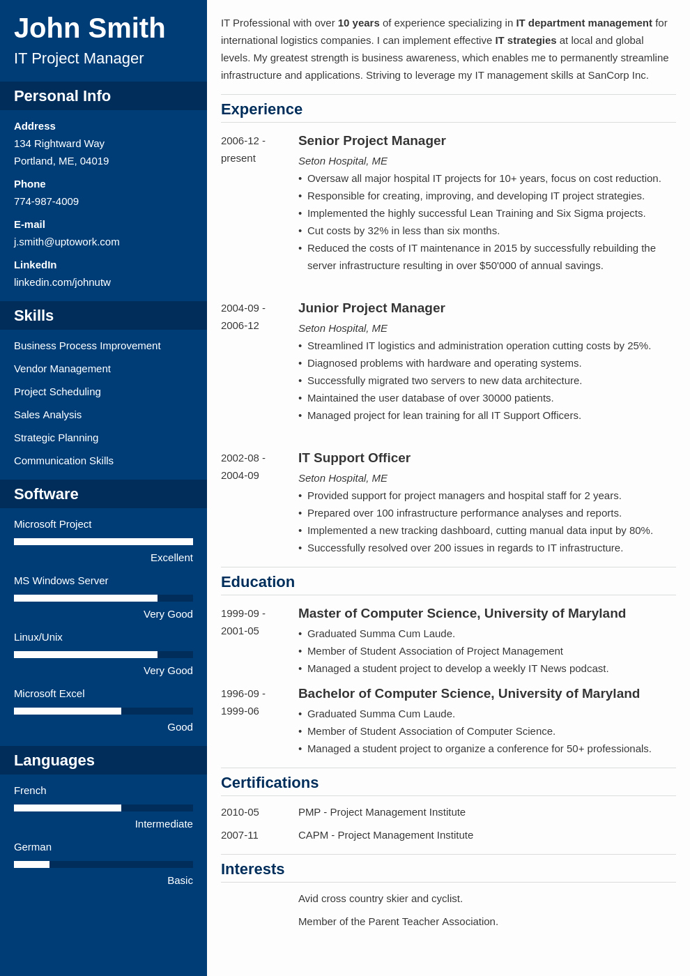 Professional Resume formats Free Download Inspirational 20 Cv Templates Create Your Professional Cv In 5 Minutes
