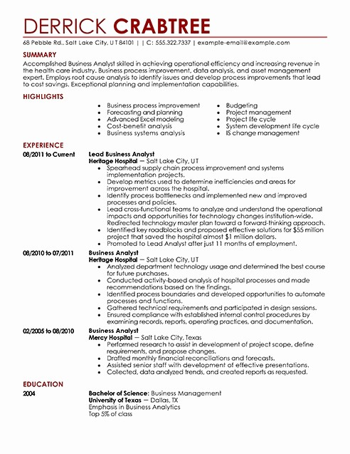 Professional Resume formats Free Download Inspirational Professional Resume Template Free Download