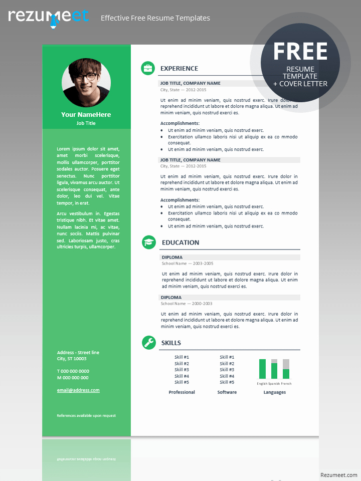 Professional Resume formats Free Download New orienta Free Professional Resume Cv Template
