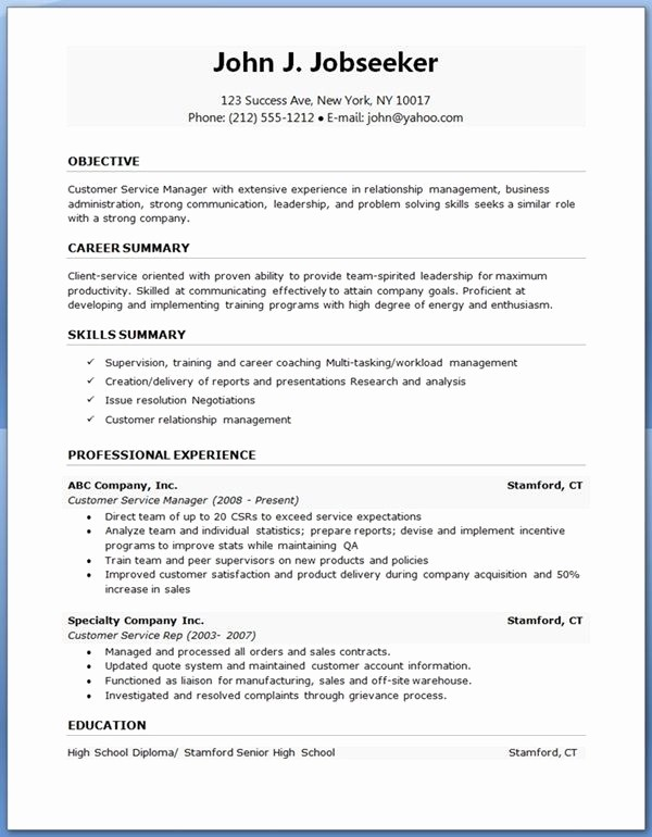 Professional Resume formats Free Download Unique Nuvo Entry Level Resume Template Download Creative Resume
