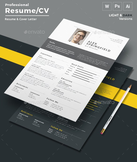 Professional Resume Template Microsoft Word Best Of 26 Word Professional Resume Template Free Download