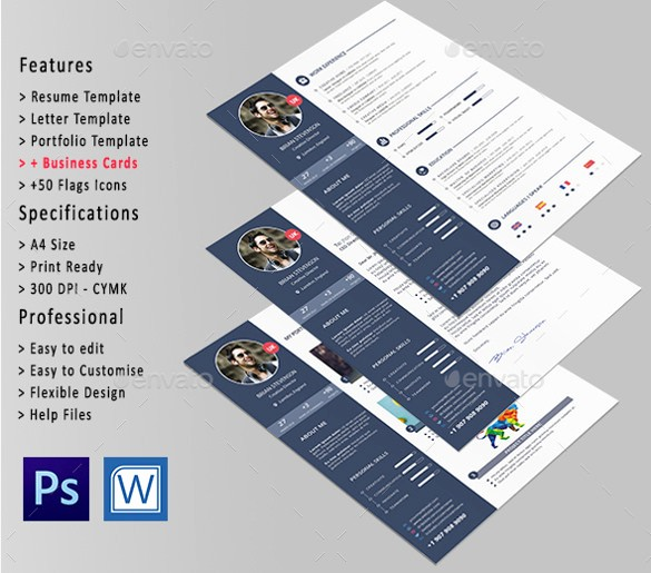 Professional Resume Template Microsoft Word Inspirational 26 Word Professional Resume Template Free Download
