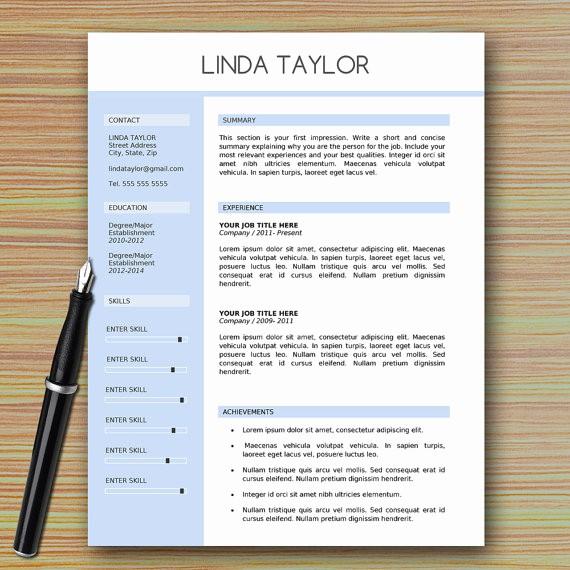 Professional Resume Templates Microsoft Word Awesome Professional Modern Resume Template for Microsoft Word