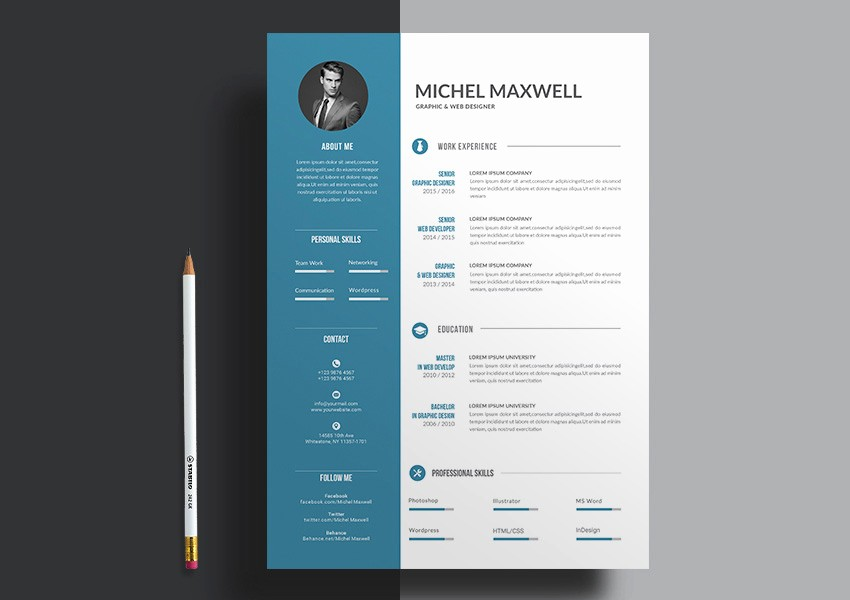 Professional Resume Templates Microsoft Word Best Of Resume Design Templates 20 Professional Ms Word Resume