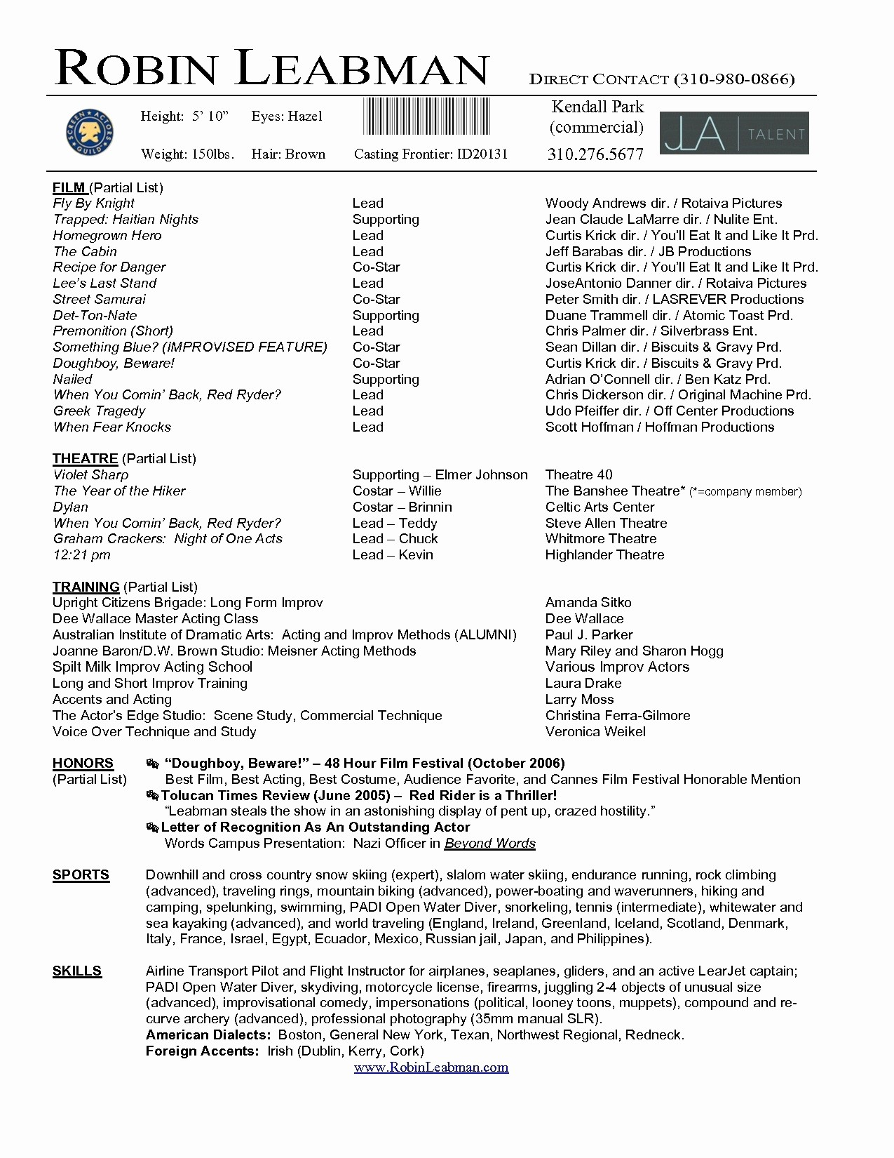 Professional Resume Templates Microsoft Word Lovely Acting Resume Template 2017