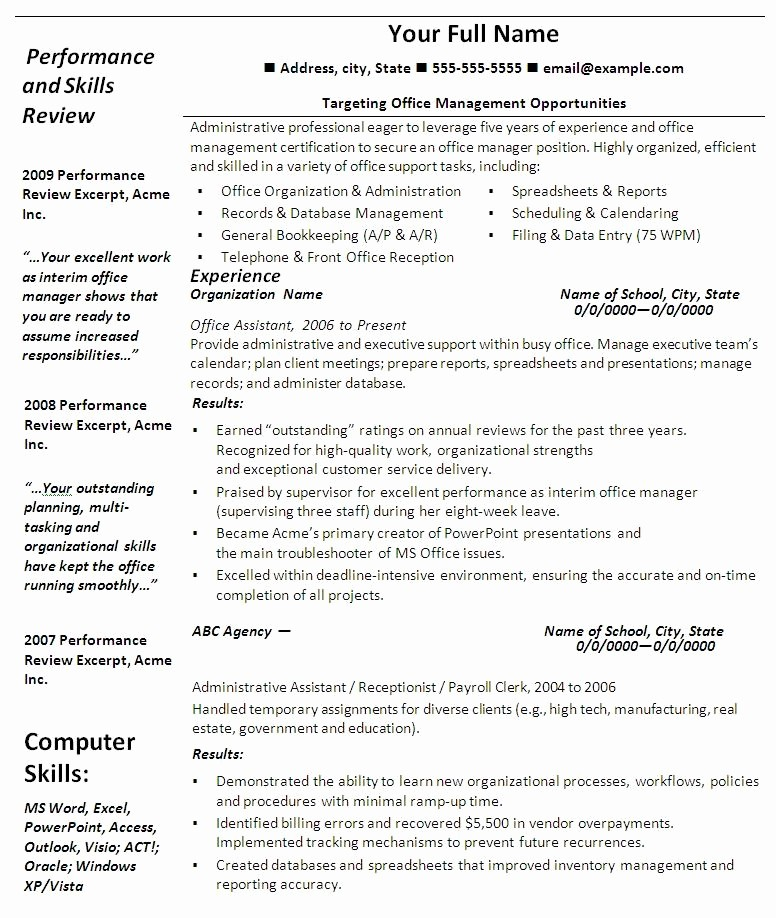 Professional Resume Templates Microsoft Word New Resumes Template with Quotes Quotesgram