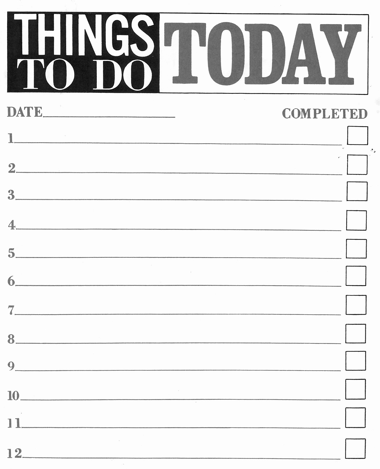 Professional to Do List Template Awesome to Do List Pdf