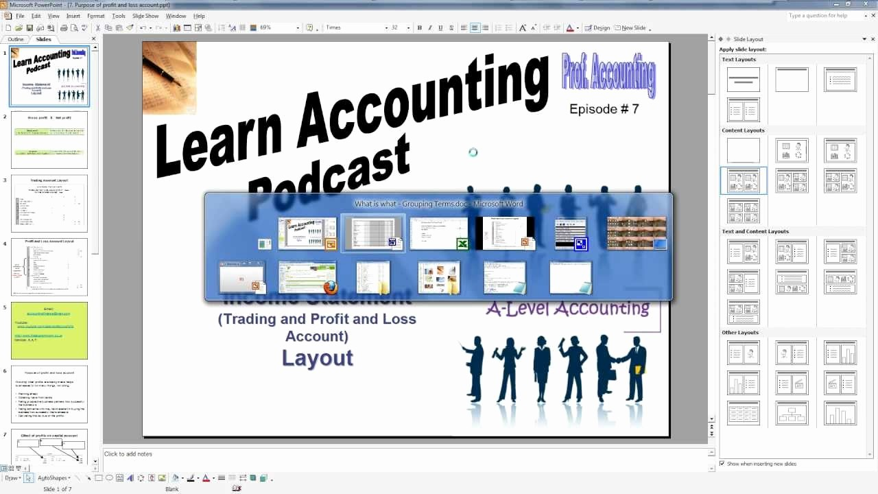 Profit and Loss Account Sheet Fresh A Level Accounting Trading Profit and Loss Account Balance