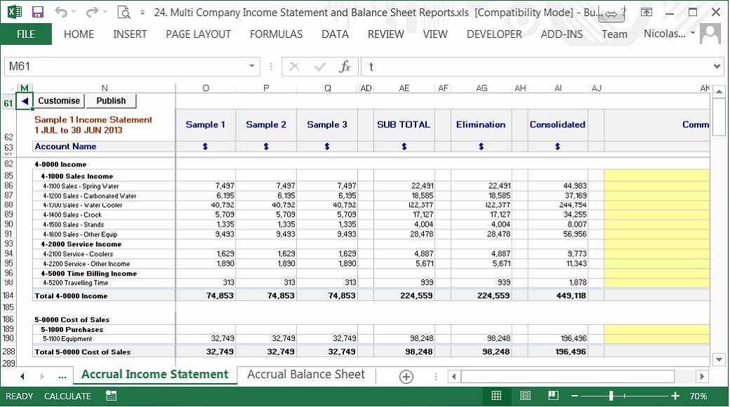 Profit and Loss Account Sheet New Pany Balance Sheet and Profit and Loss Account format