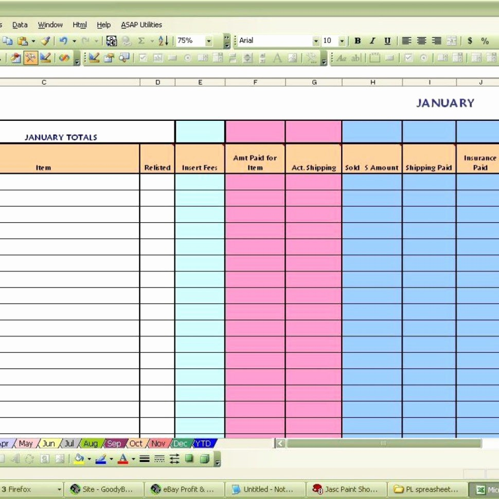 Profit and Loss Excel Spreadsheet Awesome Coffee Shop Profit and Loss Excel Spreadsheet within