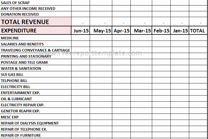 Profit and Loss Report Template Beautiful Parative Report Templates – Free Report Templates