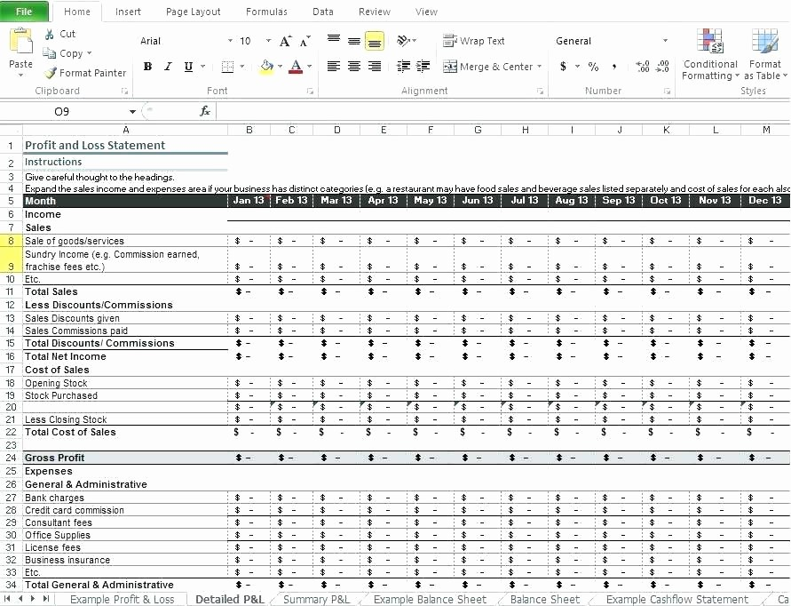 Profit Margin Excel Spreadsheet Template Lovely Margin Calculation In Excel Profit formula Restaurant and
