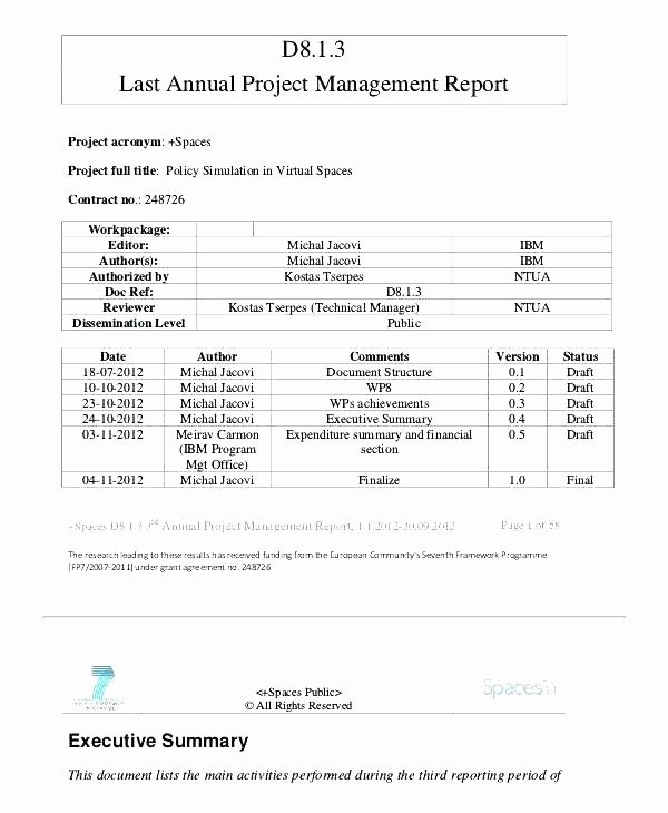 Program Management Status Report Template New Agile Project Management Status Report Template and