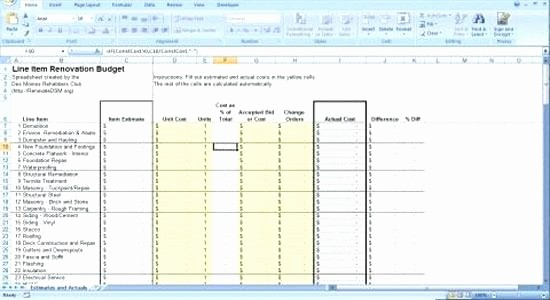 Project Budget Template Excel Free Best Of Construction Bud Excel Template – Shopdeub