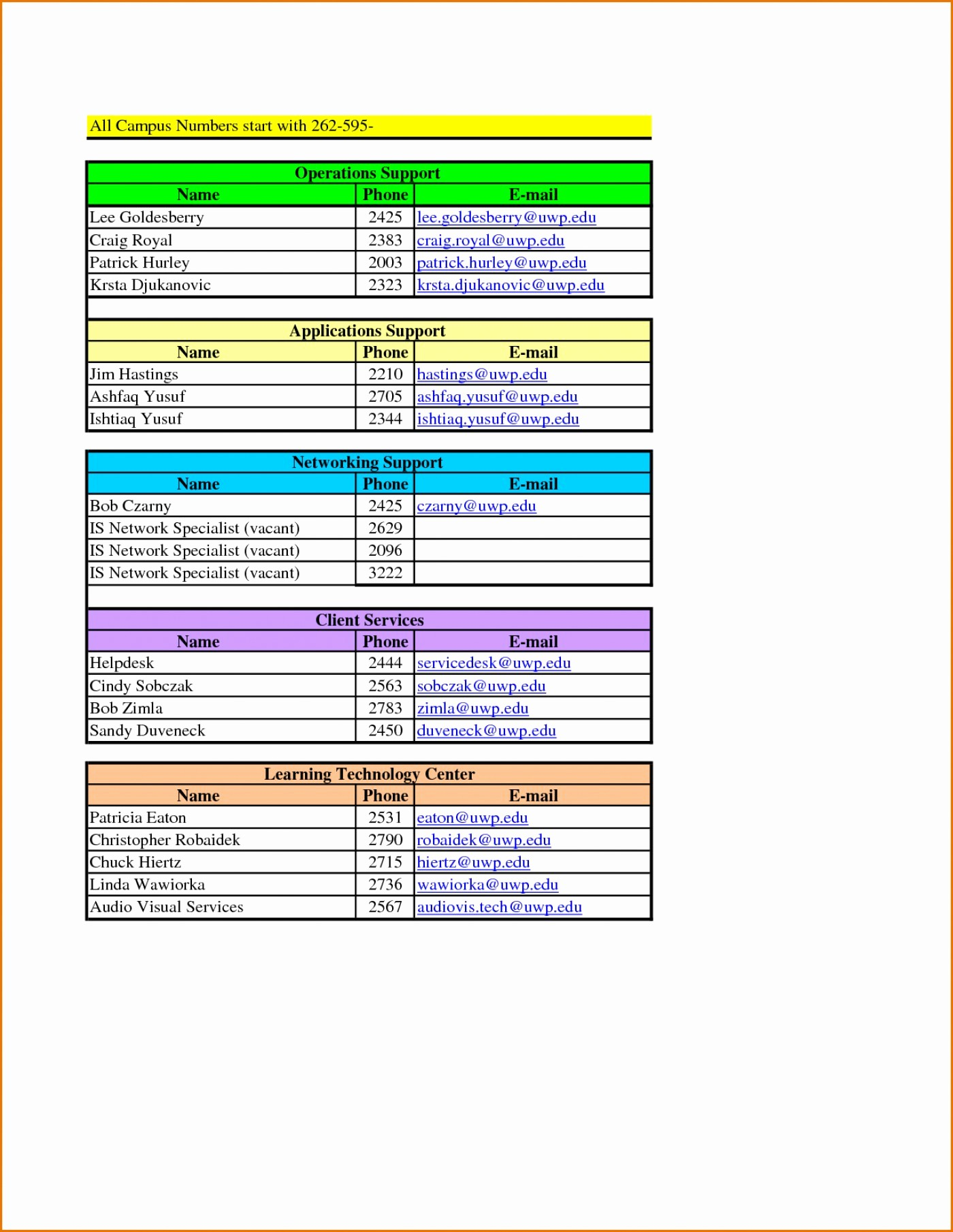 Project Contact List Template Excel Best Of 020 Phone Book Template Excel Luxury Project Contact List
