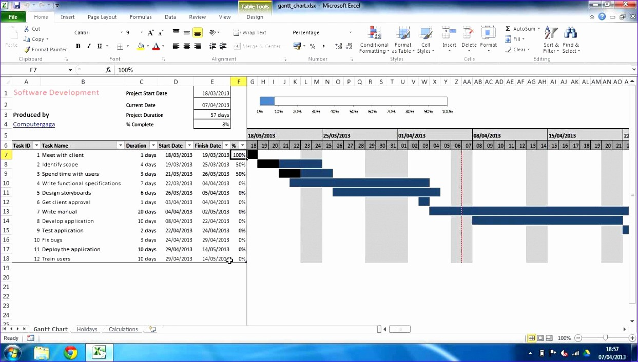 Project Management Charts In Excel Beautiful 10 Project Management Template Excel 2010 Exceltemplates