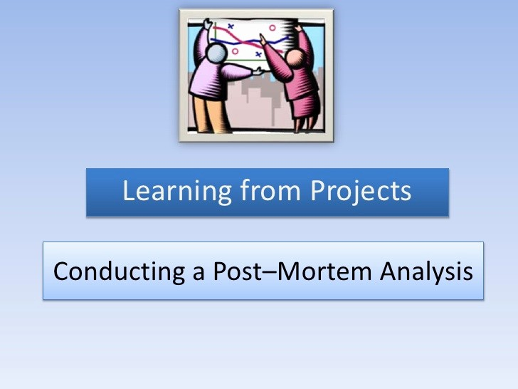Project Management Post Mortem Template Awesome Post Mortem Analysis
