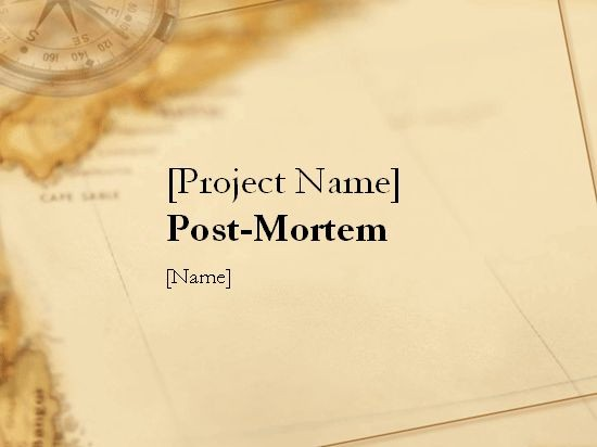 Project Management Post Mortem Template New 18 Best Images About Project Mgmt On Pinterest