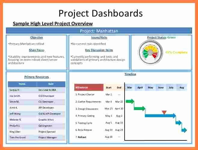Project Management Progress Report Template Beautiful 6 Project Management Progress Report Template