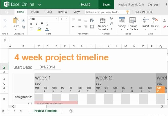 Project Management Schedule Template Excel Best Of Free Project Timeline Template for Excel