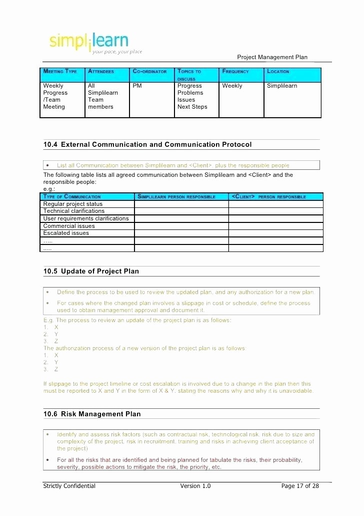 Project Management Schedule Template Excel New Project Tracking Template Excel Project Management