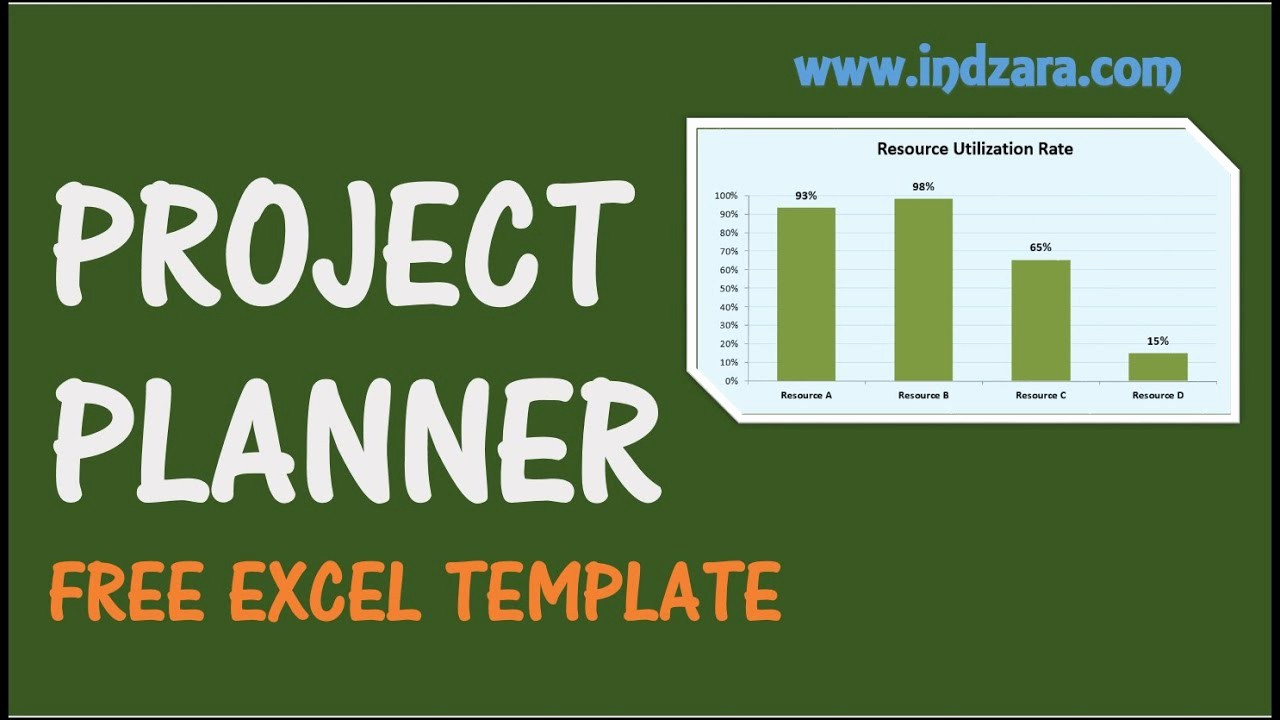 Project Management Template Excel Free Elegant Project Planner Excel Template Free Project Plan