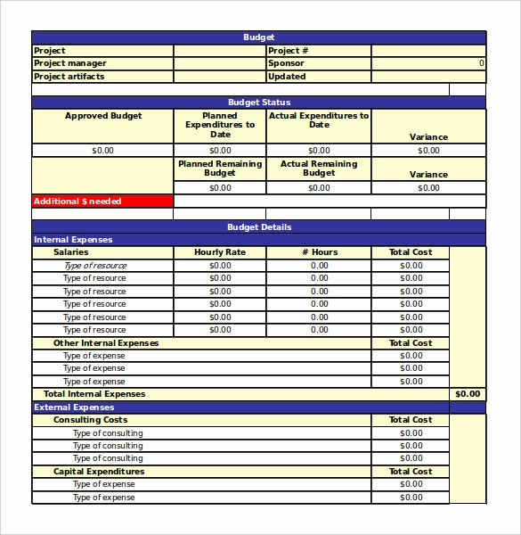 Project Management Template Excel Free New 18 Free Spreadsheet Templates – Free Sample Example