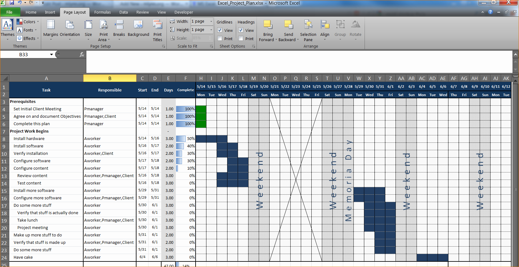 Project Management Templates In Excel Lovely 3 Project Plan Template Excel