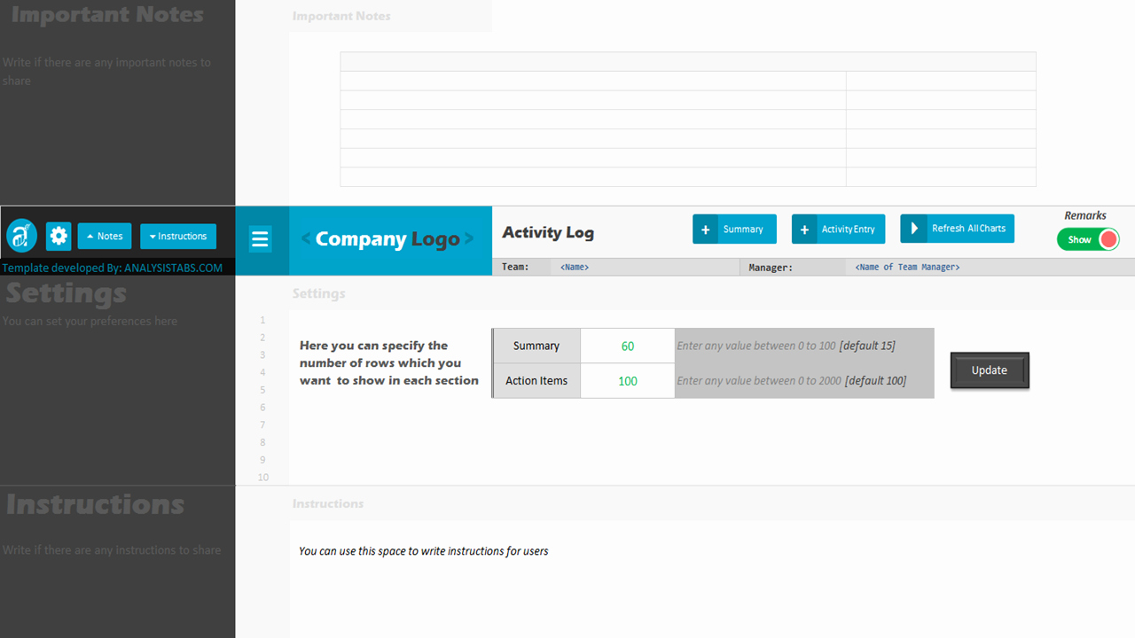 Project Management Templates In Excel Lovely Activity Log Excel Project Management Templates
