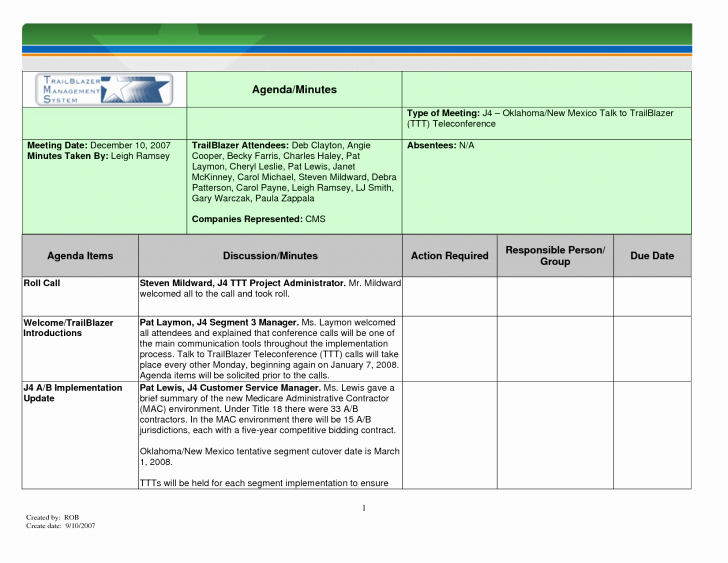 Project Meeting Minutes Template Excel Beautiful Template Meeting Minutes Template
