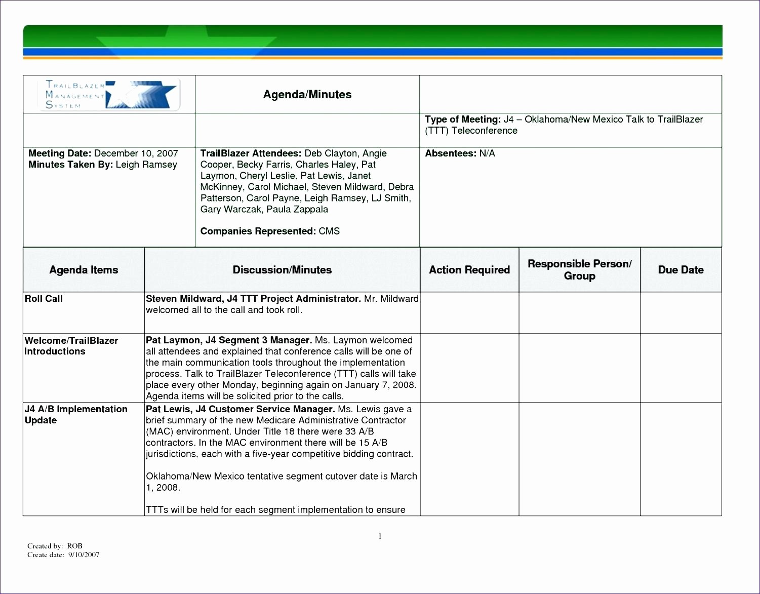 Project Meeting Minutes Template Excel Best Of Template Meeting Actions Template