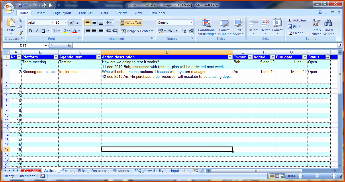 Project Meeting Minutes Template Excel Elegant 8 Meeting Minutes Template Excel Bookletemplate