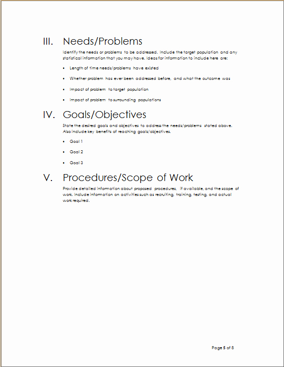Project Outline Template Microsoft Word Fresh Project Outline Template