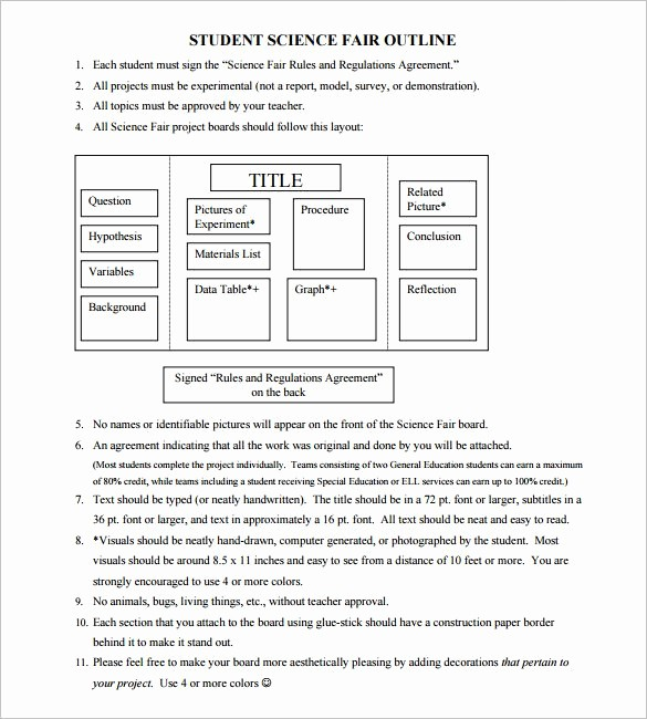 Project Outline Template Microsoft Word New Project Outline Template 8 Free Word Excel Pdf format