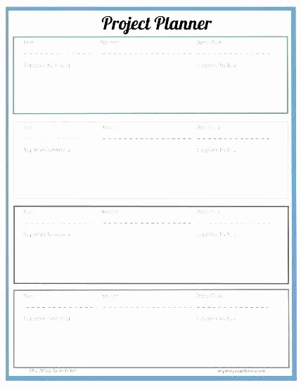 Project Planning Template for Students New School Project Plan Template – Hazstyle
