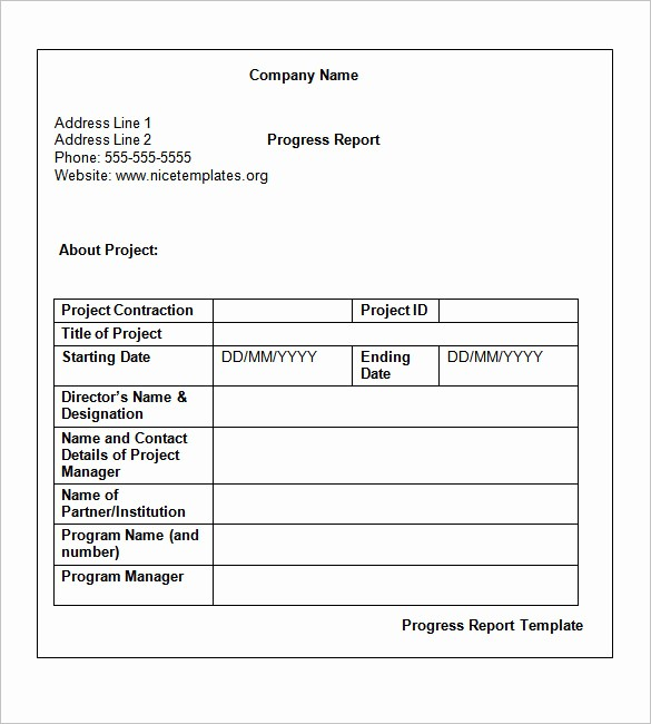 Project Report format In Word Best Of Weekly Status Report Templates 27 Free Word Documents