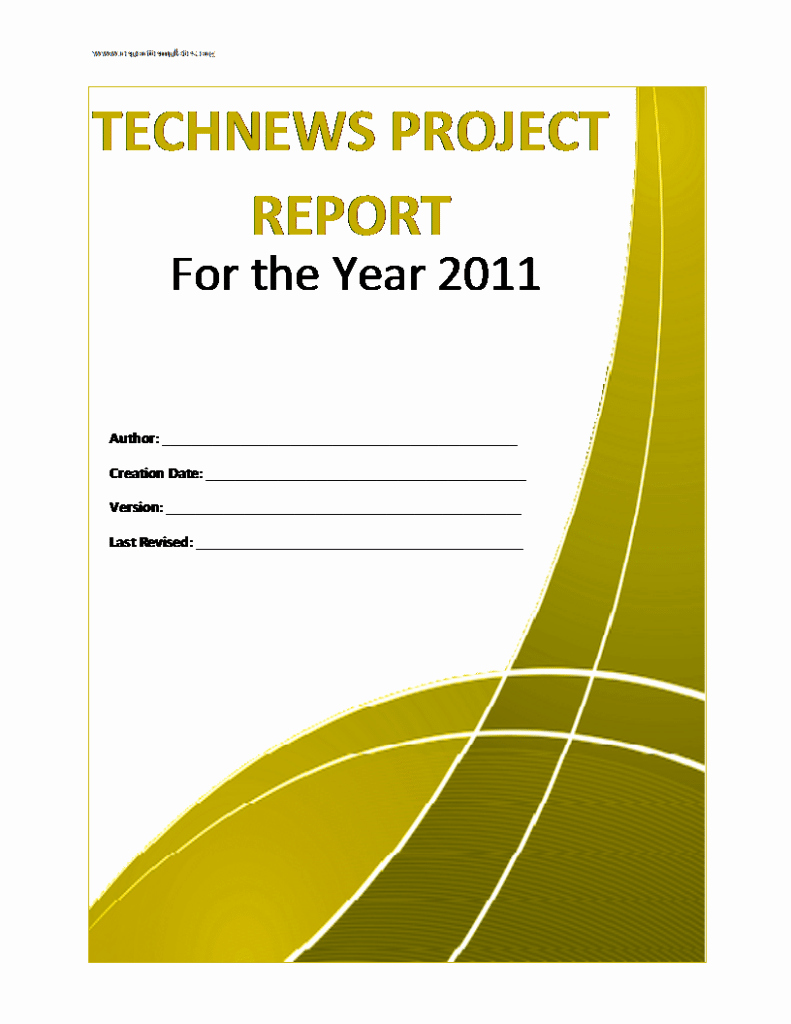 Project Report format In Word Elegant Project Report Template Free formats Excel Word