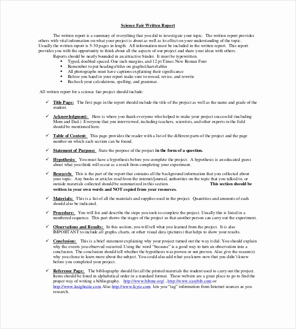 Project Report format In Word Unique 18 Project Report Templates Doc Pdf