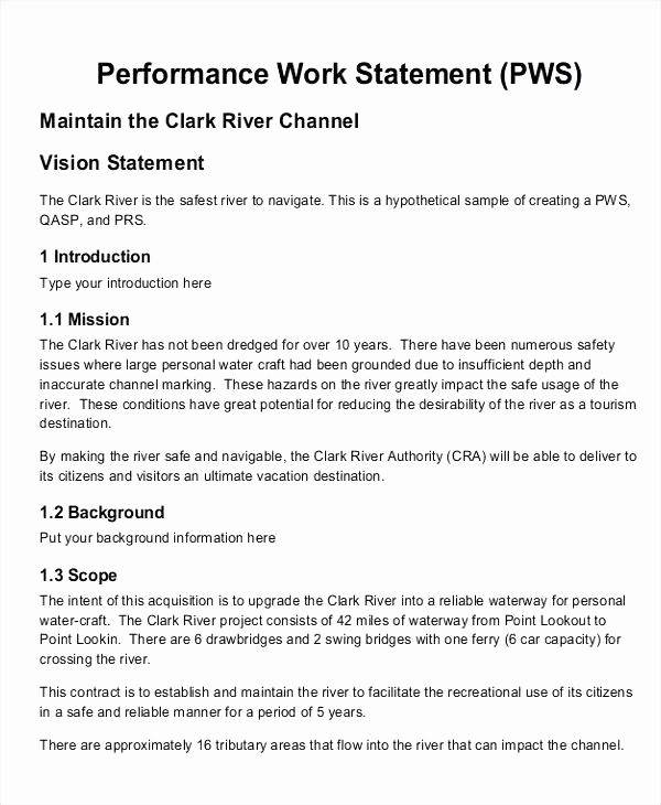 Project Statement Of Work Template New sow Statement Work Project Template Word – Azserverfo
