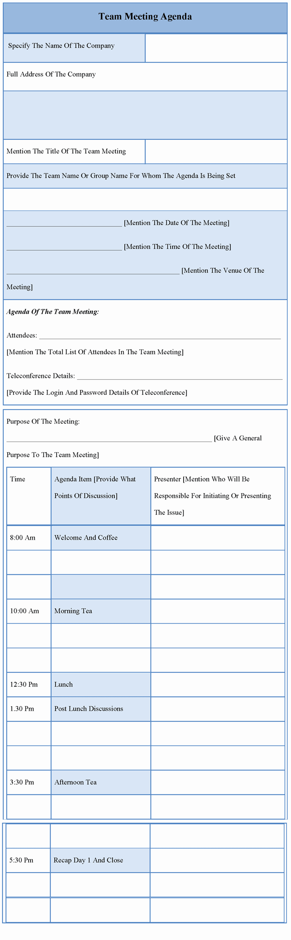 Project Team Meeting Agenda Template Beautiful 9 Best Of Team Meeting Agenda Template Team