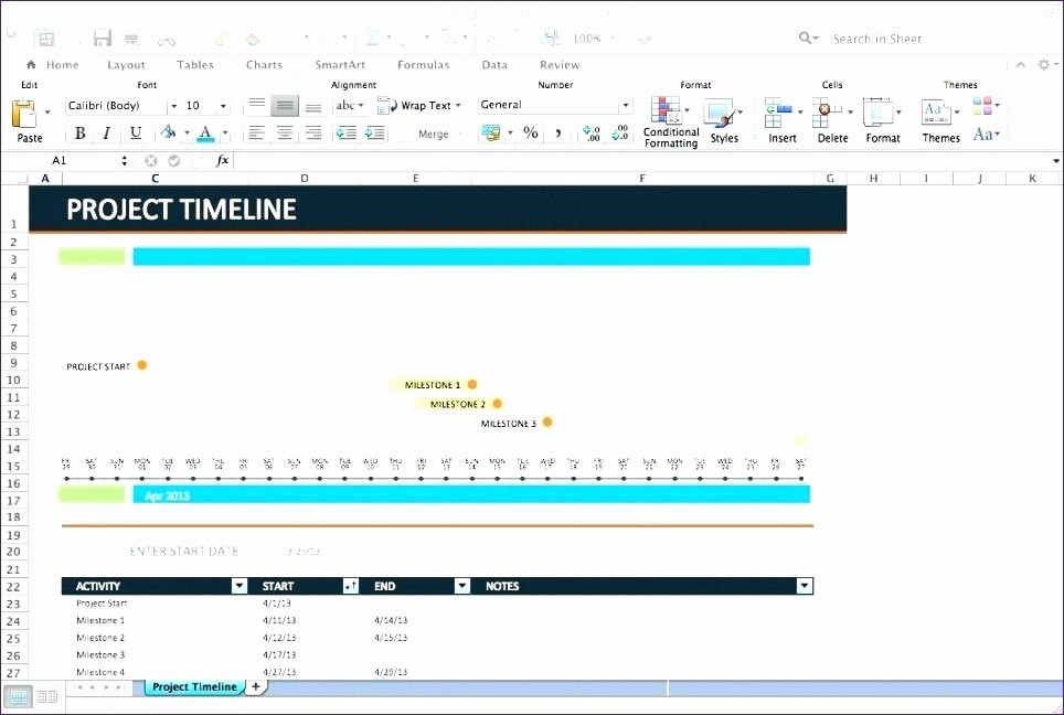 Project Timeline Template for Mac Beautiful Timeline Template Mac – Buildingcontractor