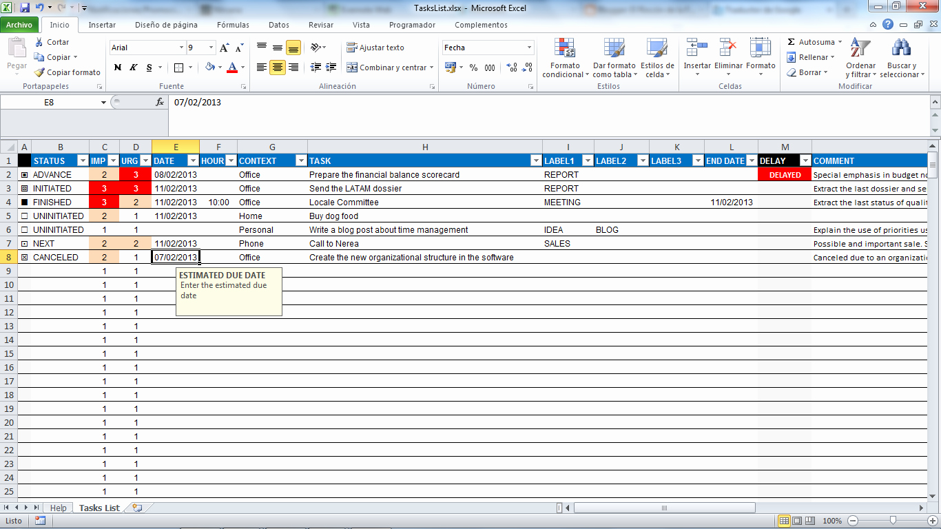 Project to Do List Excel Beautiful Task Spreadsheet Template Spreadsheet Templates for