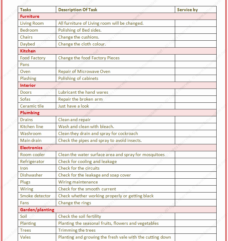 Project to Do List Excel Inspirational Cleaning Checklist Template Excel