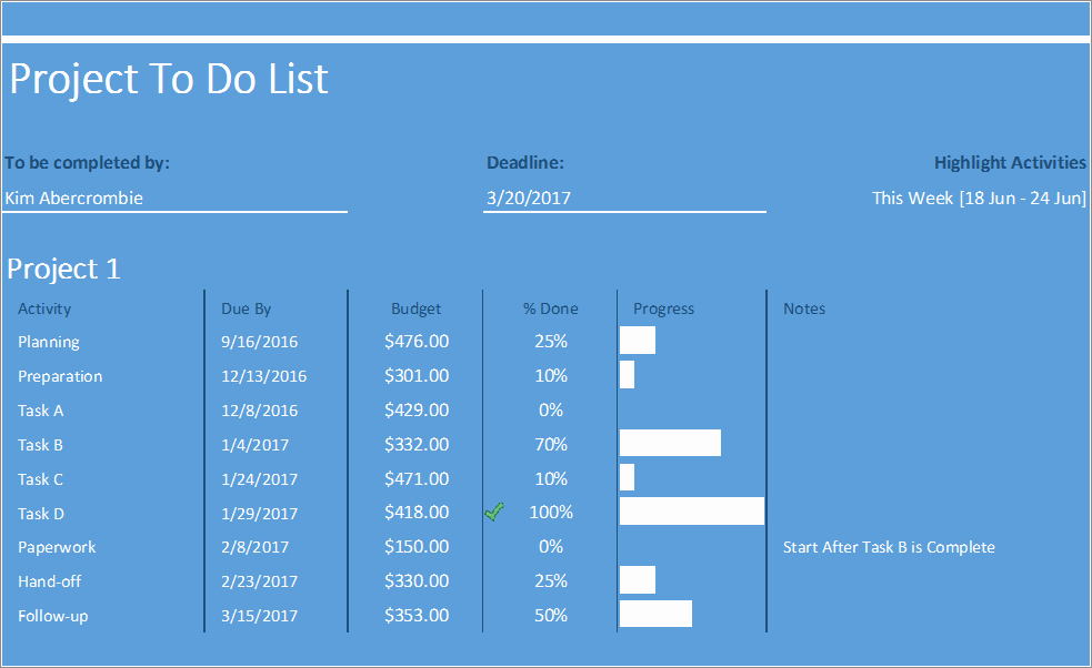 Project to Do List Excel Inspirational Project to Do List Excel Template Business Insights Group Ag