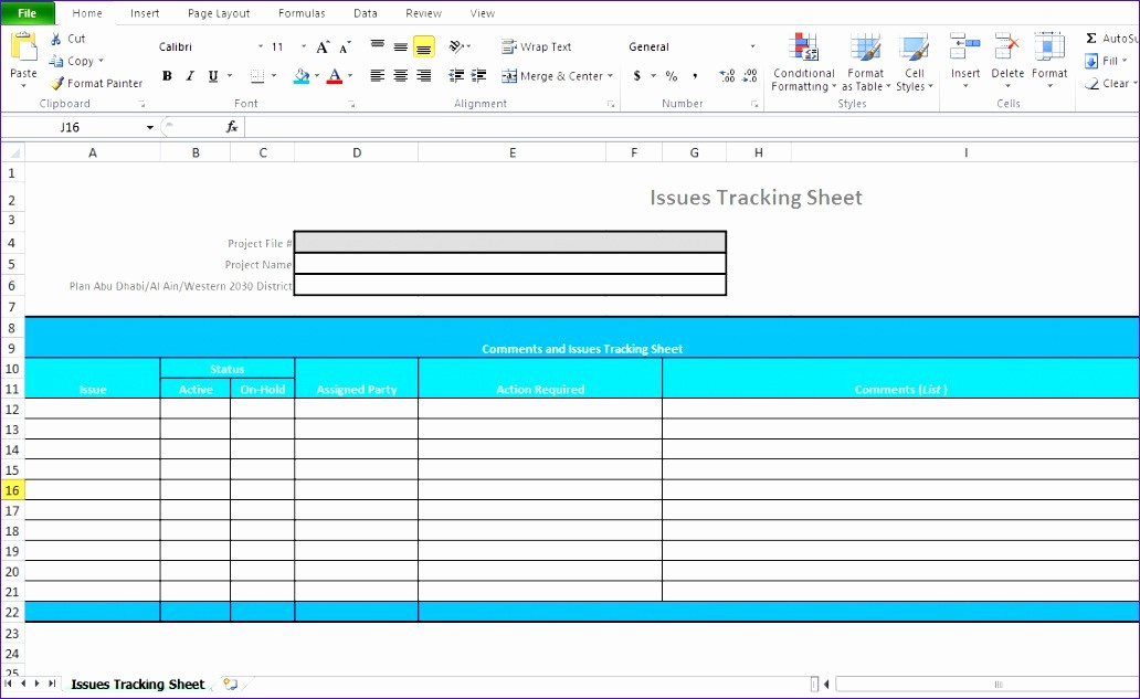 Project Tracking Template Excel Free Lovely 11 Excel Project Management Templates Free Download
