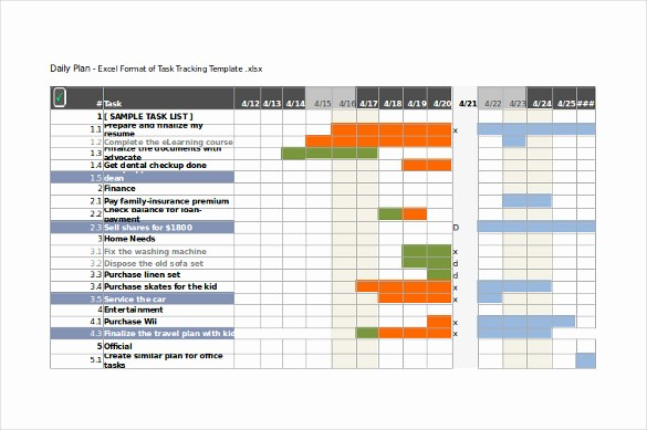Project Tracking Template Excel Free Unique 10 Task Tracking Templates Free Sample Example format