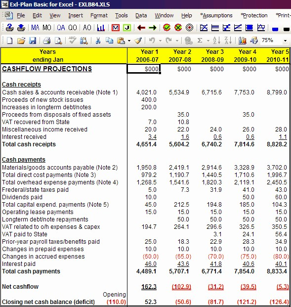 Projected Cash Flow Statement Template Awesome Projected Cash Flow Statement Sample then Pro forma Cash