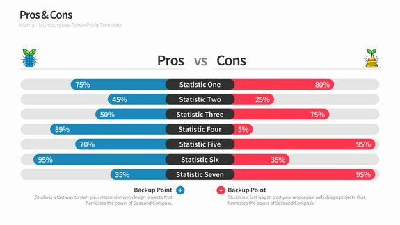 Pros and Cons Analysis Template Awesome Pros & Cons Slides for Powerpoint Templates
