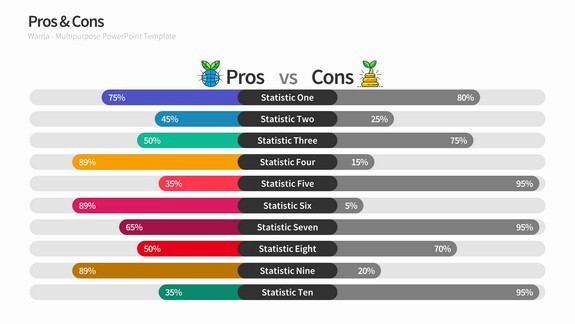 Pros and Cons Analysis Template Luxury Pros & Cons Slides for Powerpoint Templates