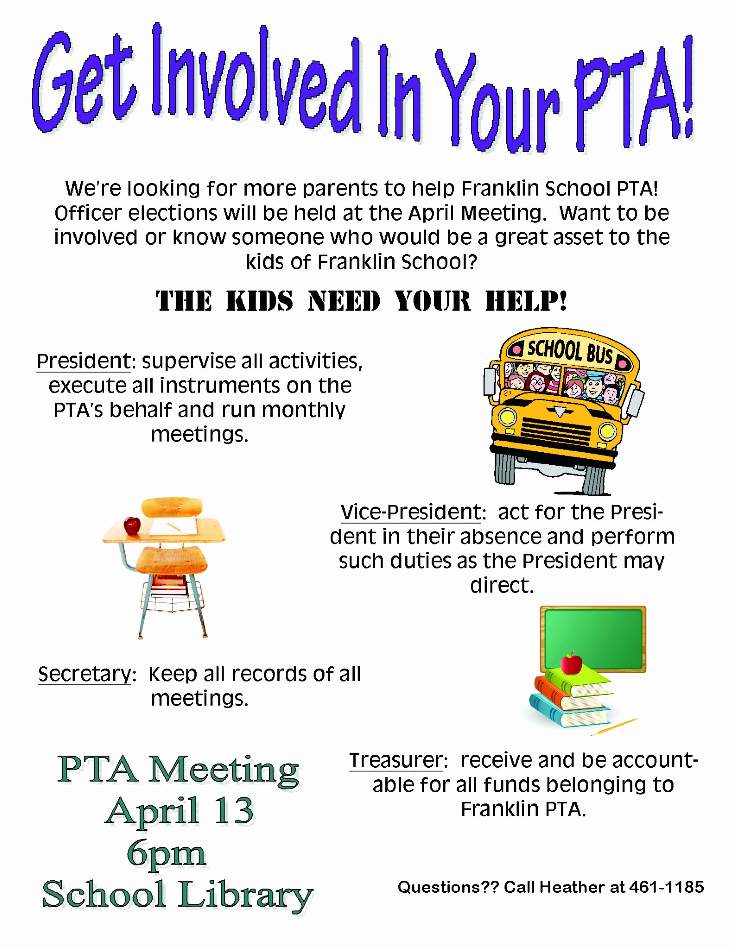 Pta Meeting Sign In Sheet Fresh Pto Volunteer Recruitment Flyer